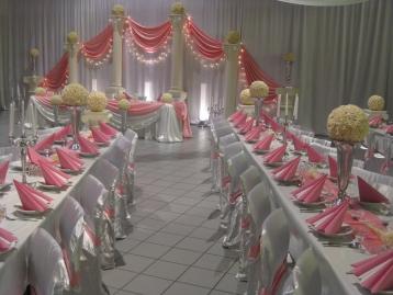 Hochzeitsdekoration Pader-Deko - Rosa - 02