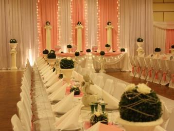 Hochzeitsdekoration Pader-Deko - Rosa - 05