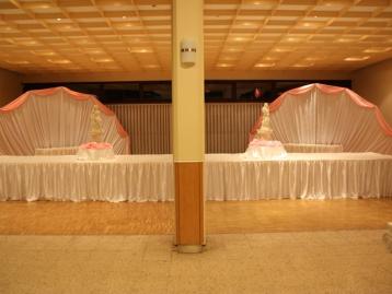 Hochzeitsdekoration Pader-Deko - Rosa - 06