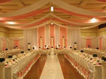 Hochzeitsdekoration Pader-Deko - Rosa - 07