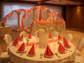 Hochzeitsdekoration Pader-Deko - Rosa - 09