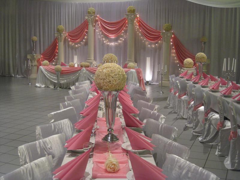 Hochzeitsdeko rosa for Hochzeitsdeko gold