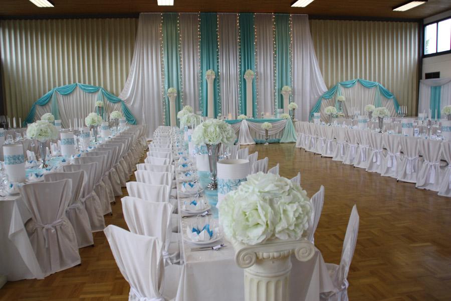 Hochzeitsdeko Türkis  Hochzeitsdeko Von Pader-Deko