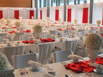 Hochzeitsdeko Pader-Deko Hochzeitsdekoration Klassisch Rot