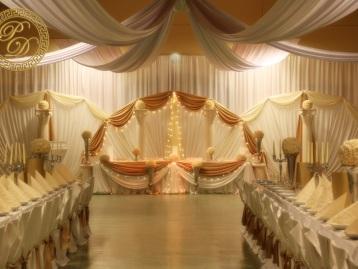 Hochzeitsdeko Pader-Deko Hochzeitsdekoration Klassisch Gold