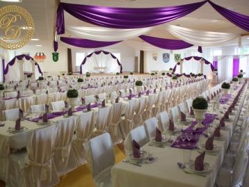 Hochzeitsdeko Pader-Deko Hochzeitsdekoration Klassisch Lila