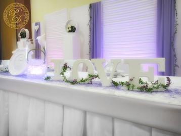 Hochzeitsdeko Pader-Deko Hochzeitsdekoration Modern Flieder