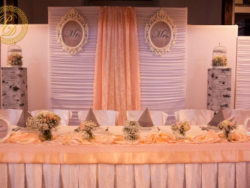 Hochzeitsdeko Pader-Deko Hochzeitsdekoration Shabby Chic Vintage Apricot