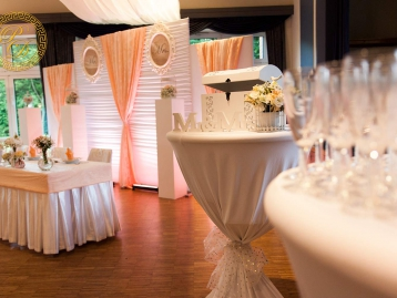 Hochzeitsdeko Pader-Deko Hochzeitsdekoration Shabby Chic Apricot