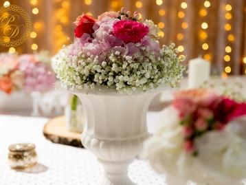Hochzeitsdeko Pader-Deko Hochzeitsdekoration Shabby Chic Vintage Rosa Apricot LED