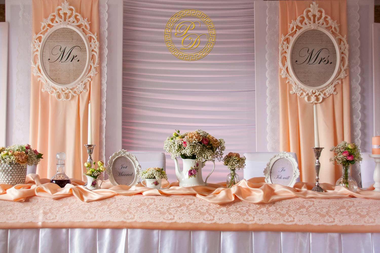Apricot hochzeitsdeko Hochzeitsdeko Apricot
