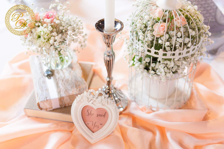 Apricot hochzeitsdeko Blumendeko Hochzeit
