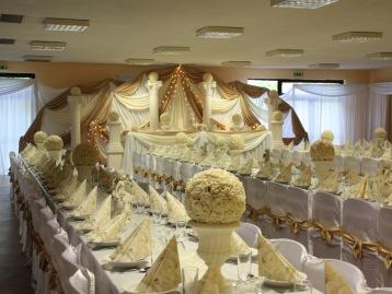 Hochzeitsdeko Pader-Deko - Champagner Gold - 05