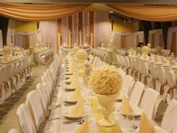 Hochzeitsdeko Pader-Deko - Champagner Gold - 09