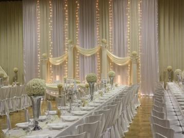 Hochzeitsdeko Pader-Deko - Champagner Gold - 01