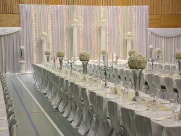 Hochzeitsdeko Pader-Deko - Champagner Gold - 10