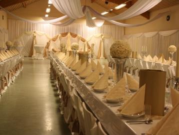 Hochzeitsdeko Pader-Deko - Champagner Gold - 11