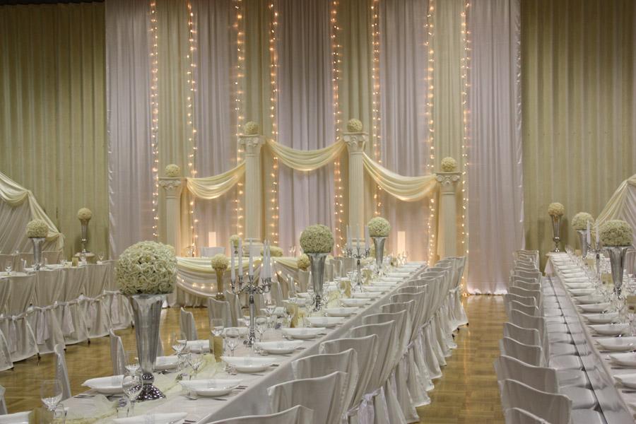 dekoration goldene hochzeit