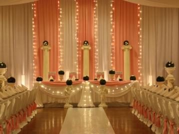 Hochzeitsdekoration Pader-Deko - Rosa - 04