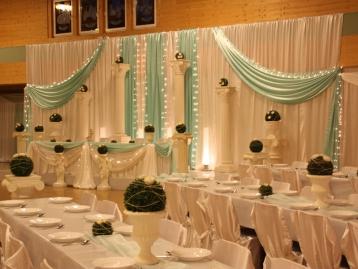 Hochzeitsdekoration Pader-Deko - Türkis - 07