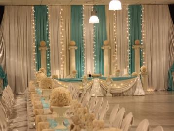 Hochzeitsdekoration Pader-Deko - Türkis - 12