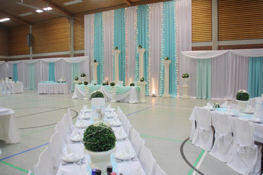 Hochzeitsdekoration Pader-Deko - Türkis - 10