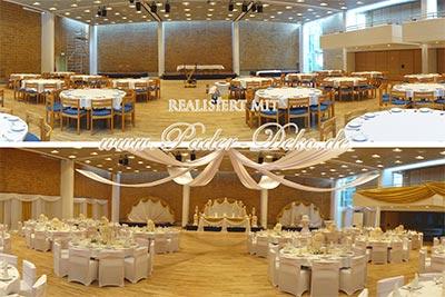 Hochzeitsdekoration Pader-Deko Thumbnail Galerien